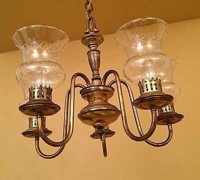 Vintage Lighting circa 1930 Colonial Revival chandelier