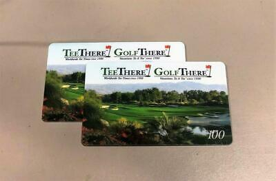 Tee There Golf There $100 Gift Cards for $40