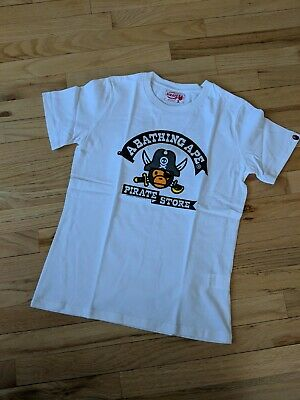 3e621d81 Brand New Authentic A BATHING APE x BABY MILO x pirate store Women size  small