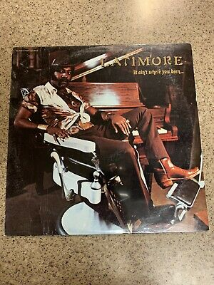 Sealed - LATIMORE - It Ain't Where You Been Original Glades 7509 Funk Soul Vinyl