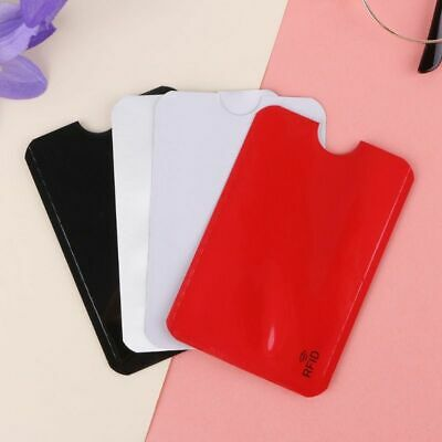 Credit Card Protector Secure Sleeve Rfid Blocking Id Holder Foil Shield Purse