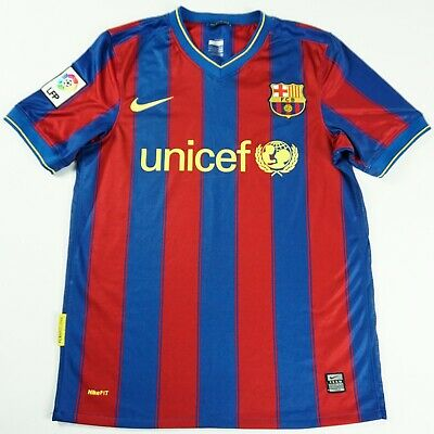 9335418df17 FC BARCELONA season 2009 2010 home S small Jersey Football Shirt Camiseta  PEP