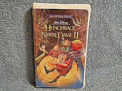 Walt Disney's The Hunchback Of Notre Dame Ii Vhs In Clamshell Case - New Sealed