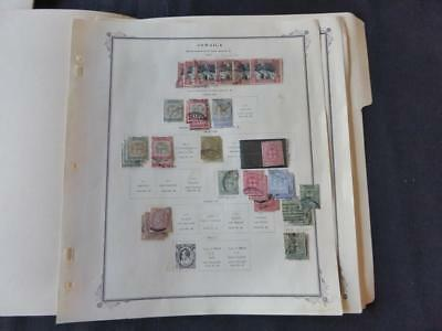 Jamaica 1860-1912 Mint/Used Stamp Collection Many Vars on Scott Spec Album Pgs