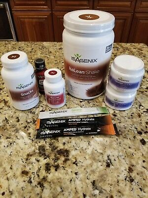 Isagenix 9-Day Cleansing System cleanse weight loss bundle lot cleanse