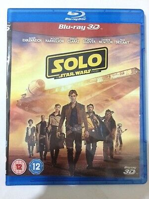 SOLO star wars story *2018 blu-ray 3D REGION FREE