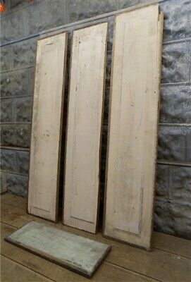 Wood Door Panels, Vintage Architectural Salvage, Farmhouse Decor, Vintage Panels