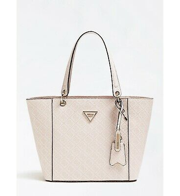 2d570c93daad BRAND NEW GUESS Signature Handbag Tote Purse Cloud LIBERATE BB508825 ...