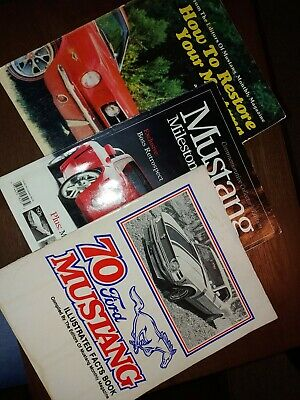 MUSTANG MILESTONES:40 Years of an American Legend Great Collector's book-magazin