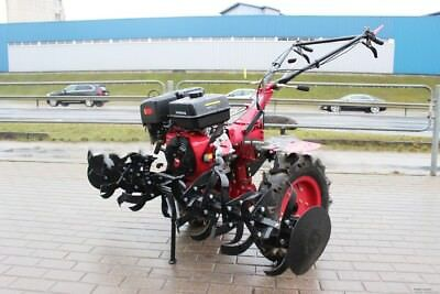 Einachsschlepper Cultivator Cultivator Pin Tractor 12kw 16ps + Accessories New