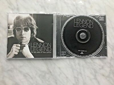 John Lennon Legend The Very Best Of Lennon CD 1997 Parlophone The Beatles OOP NM