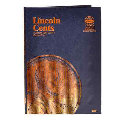 WHITMAN Lincoln Cents Number 2 Two 1941 to 1974 Folder Album #9030