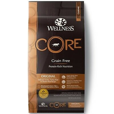 Wellness CORE Natural Grain Free Original Dry Dog Food ~ 24 lbs ~ Free Shipping!