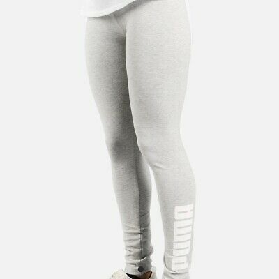 2b73b87e03e80 NEW Puma Leggings Women's Size XS S M *Choose Size* Gray Archive Logo T7  Yoga
