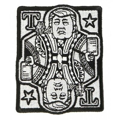 Trump Card Patch Mr Twitter 2.8 x 3.5 inch President Embroider Have A Nice Day