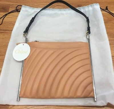 afe4e6dfd5 NWT $1650 Authentic Chloé Blushy Pink Single Size Shoulder Bag Purse Hand  New
