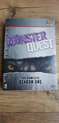 MONSTERQUEST THE COMPLETE SEASON ONE 2010 (DVD, 4-Disc Set) brand new sealed