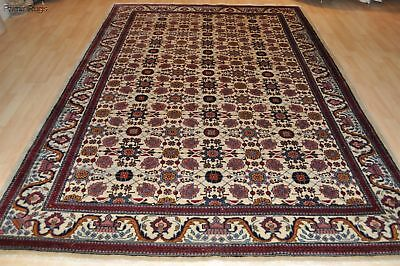 ON SALE ANTIQUE PERSIAN10' X 7' AUTHENTIC Genuine handmade wool rug