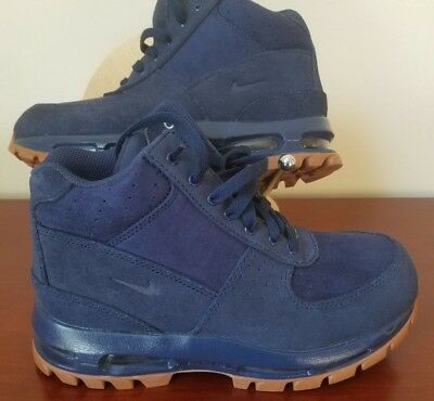 65bdfe5ab3 NWOB NIKE Air Max GOADOME BOOT 311567-400 Midnight Navy Grade School Size  6.5Y