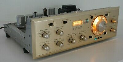 Vintage Scott 355 AM-FM Stereo Control Center Preamplifier : Partially Recapped!