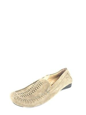 78bf3bfba3af WOMEN S VANELI CASUAL Shoes Flat Leather Loafers Beige Suede Size 11 ...