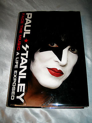 Face the Music A Life Exposed KISS by Paul Stanley SIGNED 1st/1st 2014 HCDJ