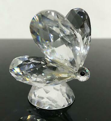 Signed SWAROVSKI Crystal Butterfly Art Statue Figurine - Missing Antenna