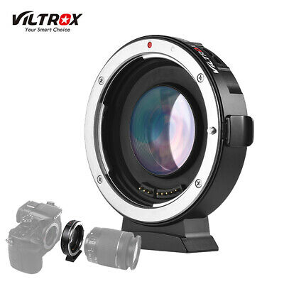Viltrox EF-M2 Auto Focus Adapter Speed Booster for Canon EFLens to MFTM 4/3 V6Q9