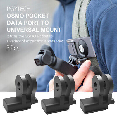 3Pcs PGYTECH Data Port To Universal Mount Expansion Accessories For OSMO Pocket