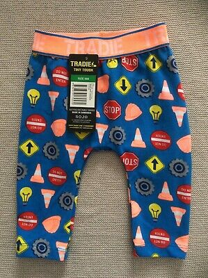 Baby Boy Size 000 Leggings by Tradie Tiny Touch