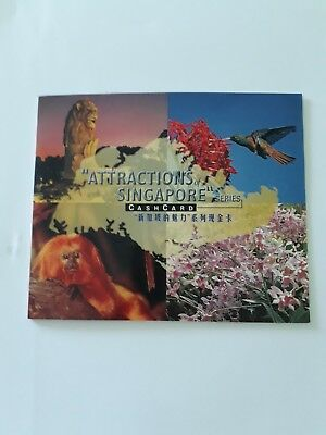 National Orchid Garden Cashcard - Attractions of Singapore Series