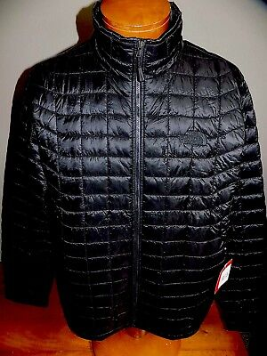NWT MEN'S THE NORTH FACE THERMOBALL JACKET PACKABLE INSULATED BLACK Large $199
