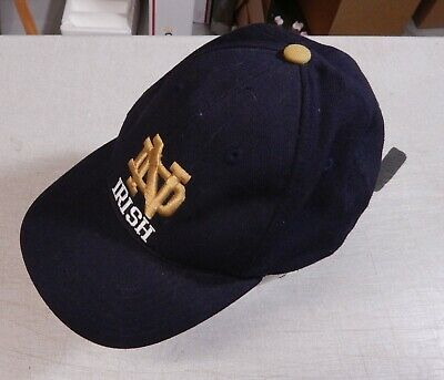 0c40375beb729 NOTRE DAME FIGHTING Irish Zephyr Fitted hat 7 1 4 Navy -  14.99 ...