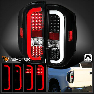 Fits 2014-2020 Toyota Tundra Black Sequential Signal LED Tail Lights Brake Lamps
