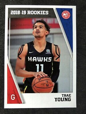 2018-19 Panini Nba Europe Edition Trae Young Rookie Sticker Rare Hot