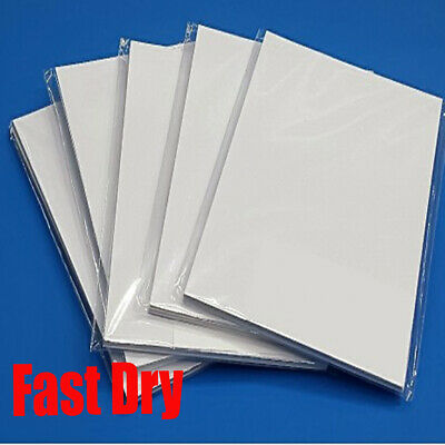 5x A4 Dye Sublimation Ink Paper 100 sheets (Fast Dry)