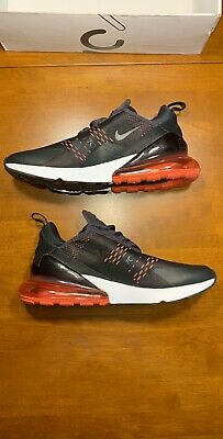 new product 06dac 81315 NEW Nike Mens Air Max 270 Running Shoes Oil Grey Black Red Sz 11 AH8050-