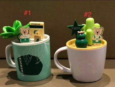 New Starbucks 2019 China Spring Is Blossoming Bear Cup Display Toy 1pc