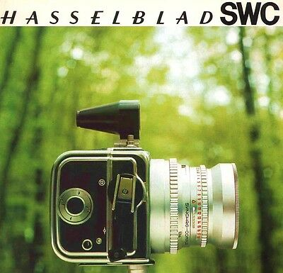 HASSELBLAD SWC CAMERA BROCHURE -HASSELBLAD SWC-from 1968
