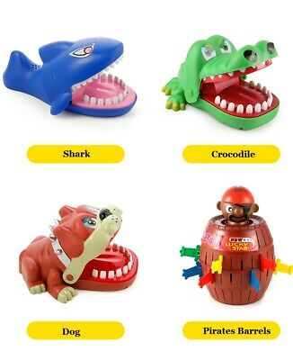 Conscientious Large Bulldog Crocodile Shark Mouth Dentist Bite Finger Game Funny Novelty Gag Toy For Kids Children Play Fun Gags & Practical Jokes Toys & Hobbies
