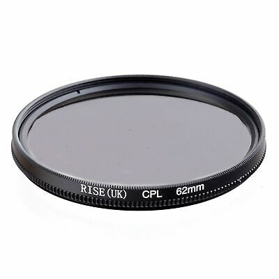 RISE(UK) 62MM CPL PL-CIR Polarizing Filter for DLSR 62mm lens