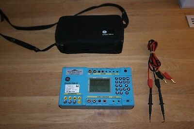 GE Druck TRX-II / trx II portable Documenting multi function Process Calibrator