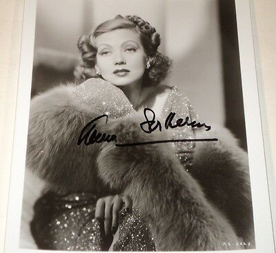 Ann Sothern Lovely 8 X 10 Bw Autographed Glamour Photo 8500