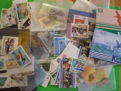 Kiribati Stamp Collection Of Over 70 Sets Mint/nh & 3 Booklets