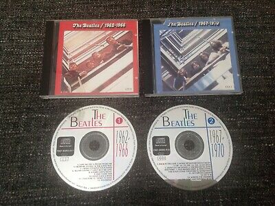 The Beatles CD Albums - 1962, 1966, 1967, 1970 - Pop Rock Slim Cases - 2 Discs