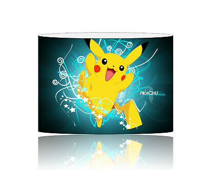 PIKACHU pokemon 30cm LAMPSHADE kids room FREE POSTAGE