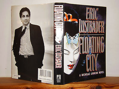 Floating City by Eric Lustbader HB in DW 1st US edition