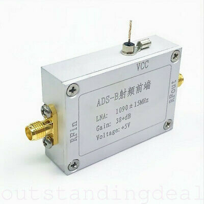 RF Power Amplifier 1090MHz 38dB Lower Noise Amplifier for ADS-B RF Front-End os1