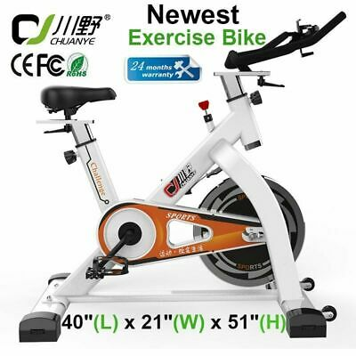 Fitness Bike Exercise Stationary Pro Bicycle Cardio Cycling Training Gym Indoor