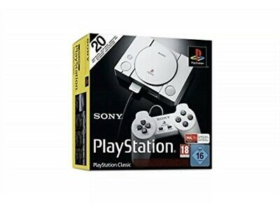 PS1-Sony Playstation Classic Console (Ps1) 20 Games Preloaded